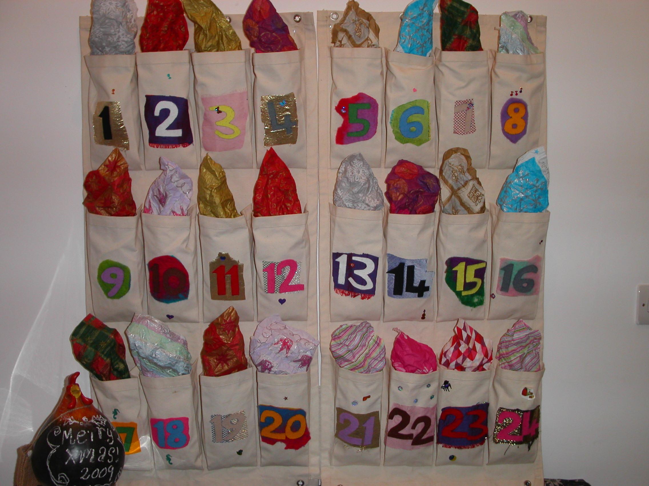 Advent Calendar Self Made : Uncategorized homemade calendars purecolonsdetoxreviews