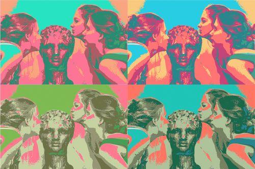 Girls kissing David 4